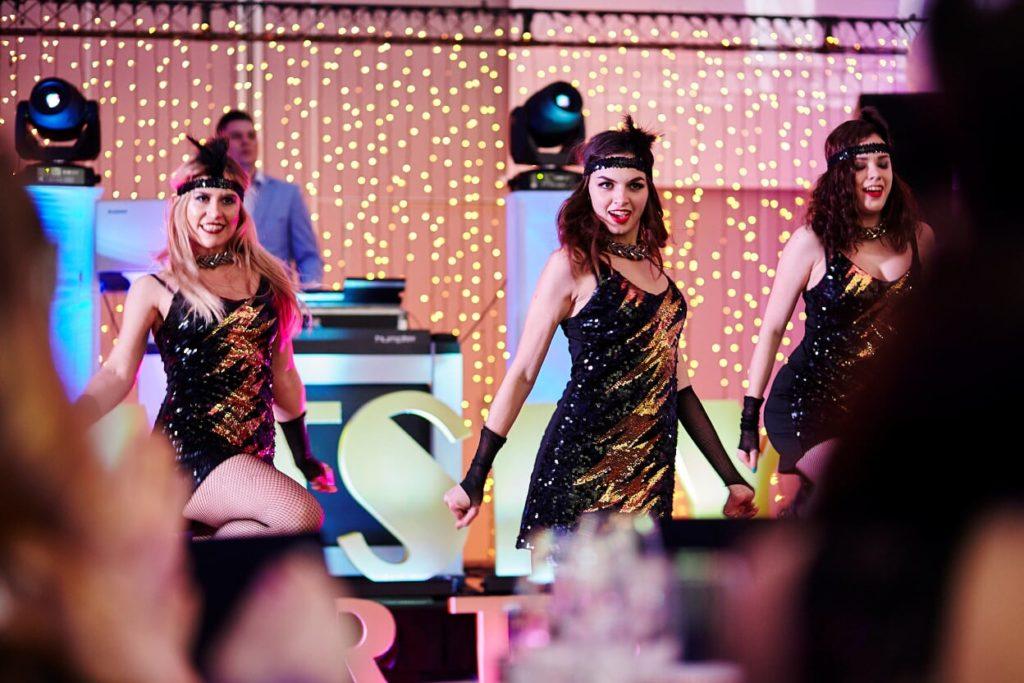 piękne panie, gatsby party, great gatsby, show taneczne, burleska