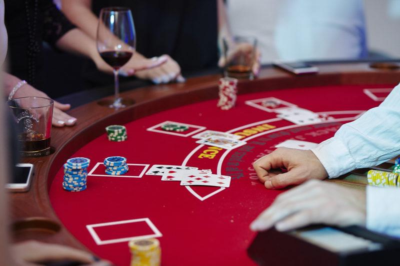 karty, gra, blackjack